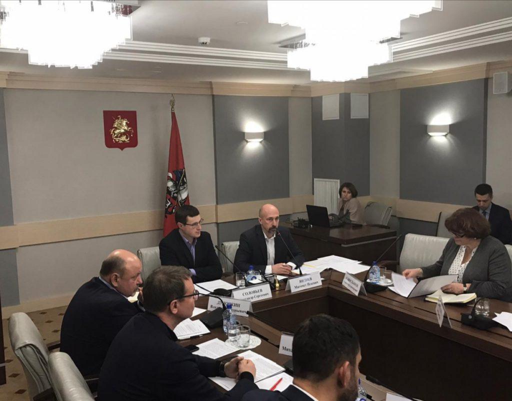 Руководитель фракции Партии СПРАВЕДЛИВАЯ РОССИЯ в Мосгордуме Магомет Яндиев: