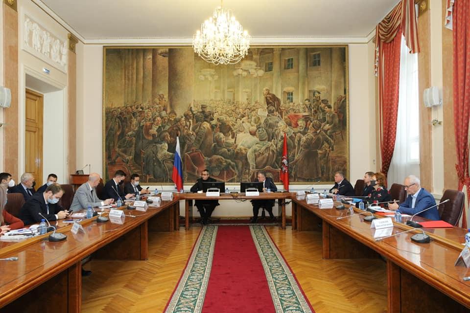 Заседание рабочей группы МГД по совершенствованию законодательства г. Москвы в связи с изменениями Конституции РФ